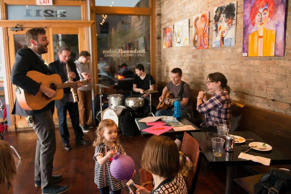Album Release Party | Birchwood Kitchen, Chicago, Illinois