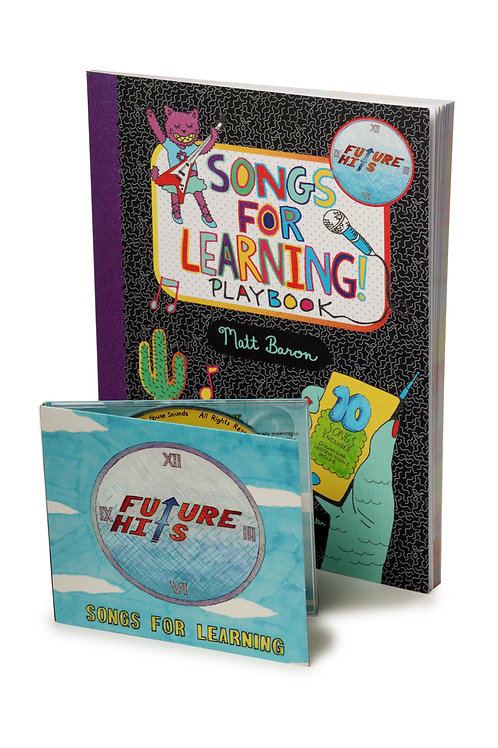 Songs for Learning! Playbook (includes free CD)