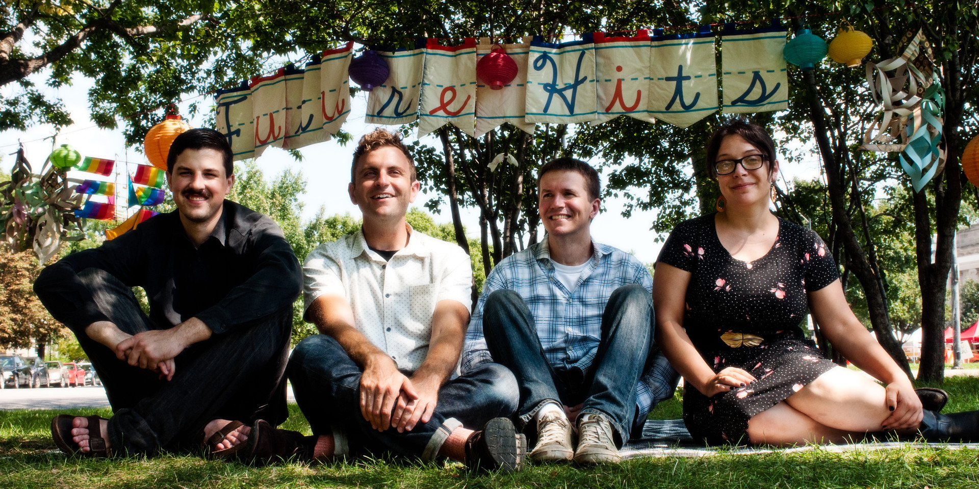 From left: Nick, Matt, Ben, Emma