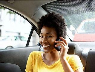 Customer in car