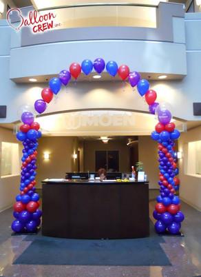 Entrance Desk Arch