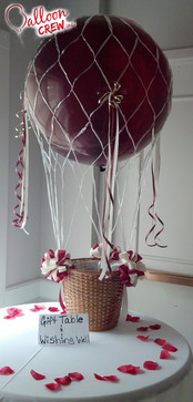 Hot Air Balloon Table Decor
