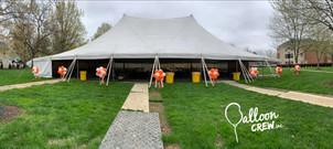 Tent Topiaries