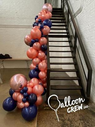 Organic Staircase decor