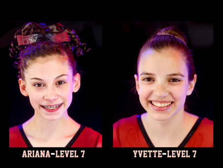 Congratulations Ariana and Yvette!