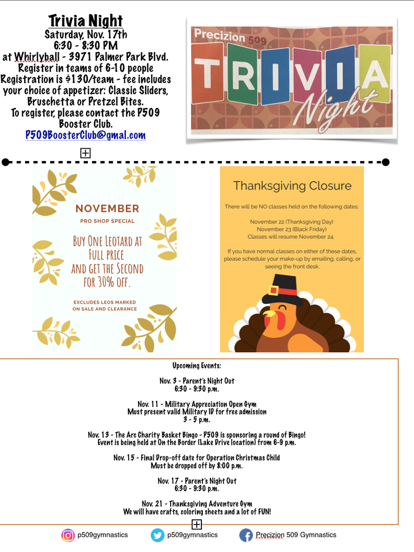 Nov. 2018 Newsletter Pg. 2