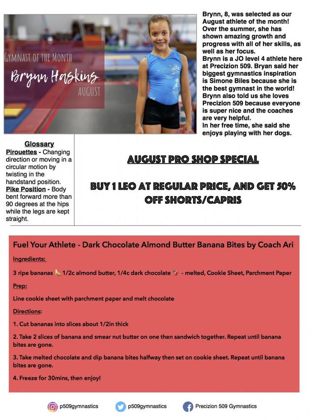 August 2018 Newsletter Pg. 2