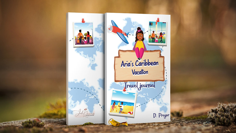 Travel Journal-Aria's Caribbean Vacation Travel journal