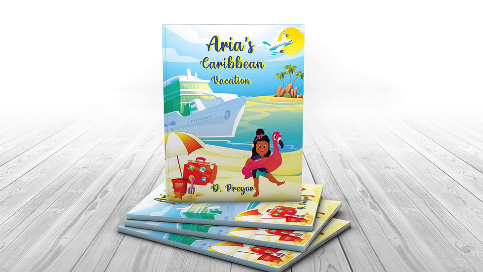 Signed Paperback-Aria's Caribbean Vacation
