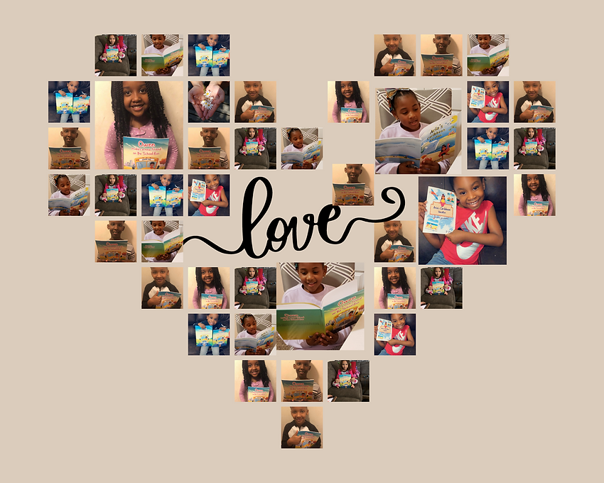 White Love Heart-Shaped Photo Collage.pn