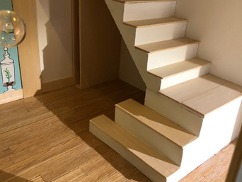The Staircase to Entertain By