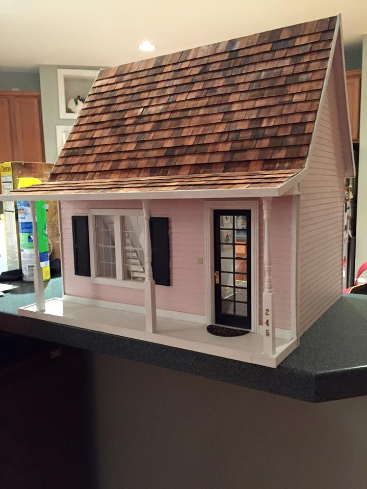 Sweet Pink Dollhouse