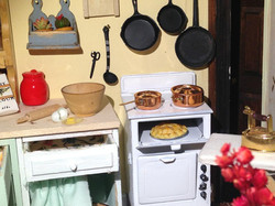 Vintage Kitchen with Clutter