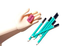 1/4 Doll Pencils