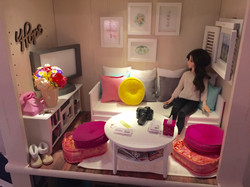 1/4 Doll Living Room