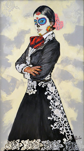 """La Charrita"" Fine Art Giclée Print on Canvas"