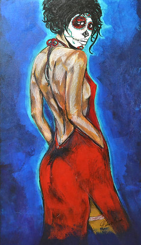 """Lady of the Night"" Fine Art Giclée Print on Canvas"