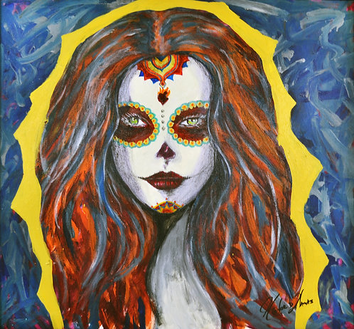 """Mi Lupita"" Fine Art Giclée Print on Canvas"