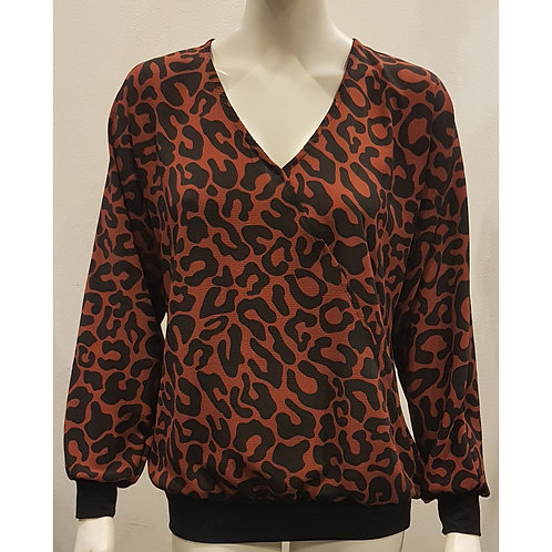 TOP 390 - Blouse Print