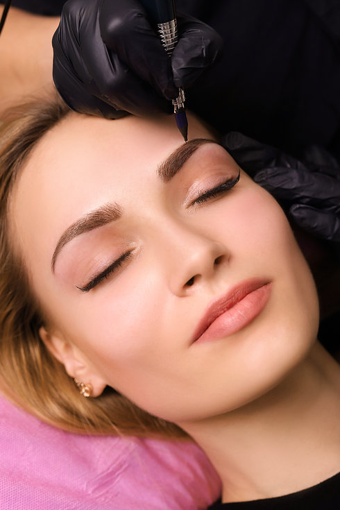 Eyebrow Microblading procedure, Cosmetic Tattooing By Helen in Gold Coast