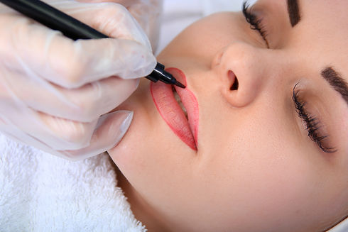 Lip Liner procedure, Cosmetic Tattooing By Helen in Gold Coast