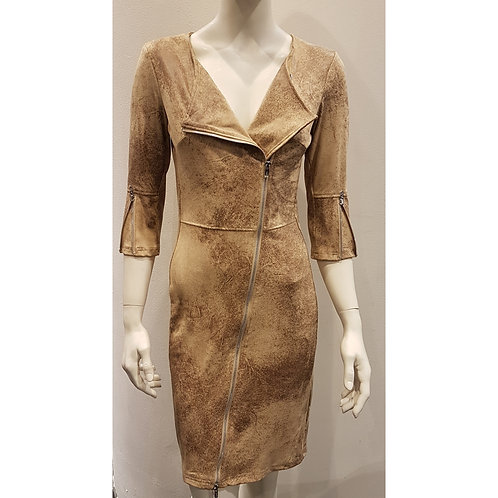 DRE 658 - Dress Diagonal Zipper