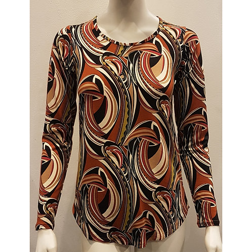 TOP 1754 - Top Round Neck Long Sleeve