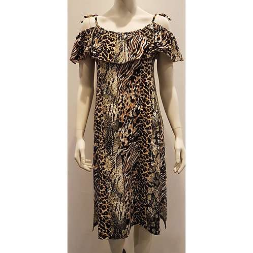 DRE 1525 - Dress ruffles