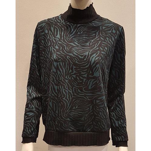 TOP 1527 - Sweater Collar