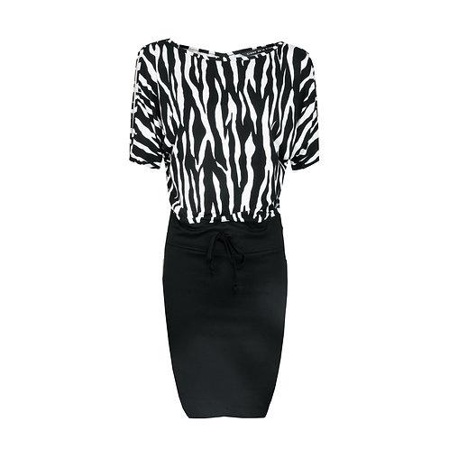DRE 752 - Dress open sleeve