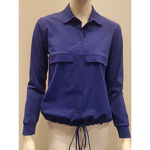 TOP 1568 - Blouse String Long Sleeve