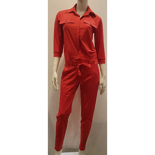 PAN 1533 - Jumpsuit 3/4 Sleeve