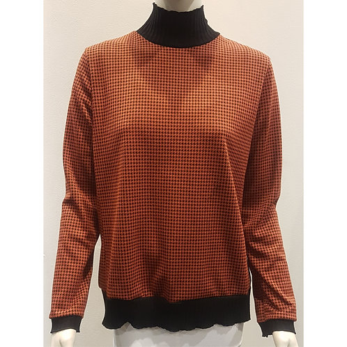 TOP 1527 - Sweater Collar