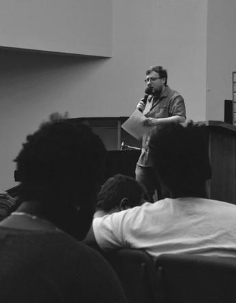 David Natali teaching at SOM