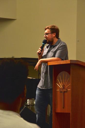 David Natali teaching at School of Moses