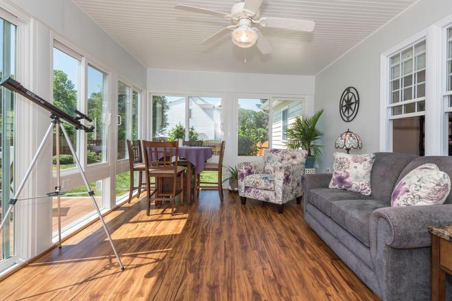 All-Season Porch Renovation - Interior