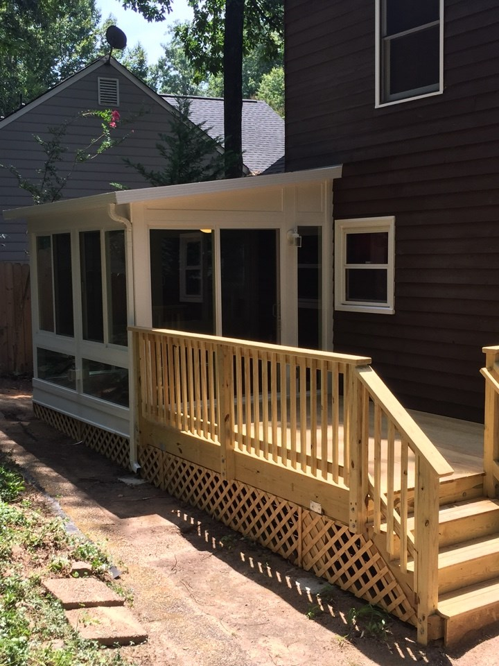 Penn - Deck and Sunroom