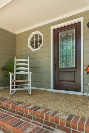 ProVia Entry Doors and James Hardie Siding...only the Best
