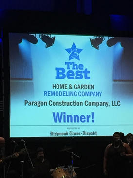 RTD Best Remodeling Company 2018!