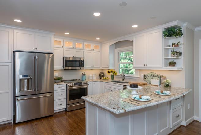 Kitchen Transformation with Wellborn Cabinets