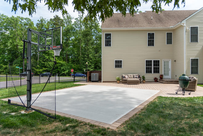 Eagle Bay Patio and Basketball Court