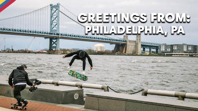 Red Bull Greetings From Philadelphia