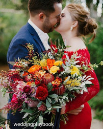 FEATURED  in The Wedding Playbook  Makeup by Lara Quinn  Scenic Rim