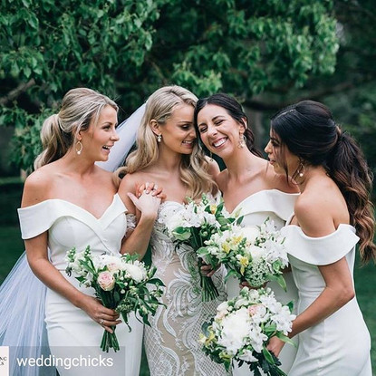 SAM and her Bride Tribe
