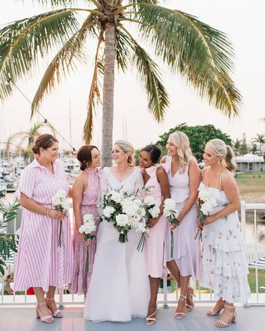 Bride and Bridal Party makeup by Lara Quinn