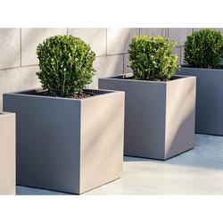 Aluminum Cube Planter
