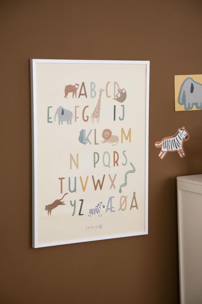 Ny plakat fra Sebra Interiør som er dekorativ, samtidig som den er lærerik.