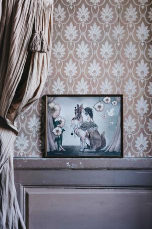 Plakatene fra Mrs Mighetto er helt magiske og gir en god stemning på barnerommet.