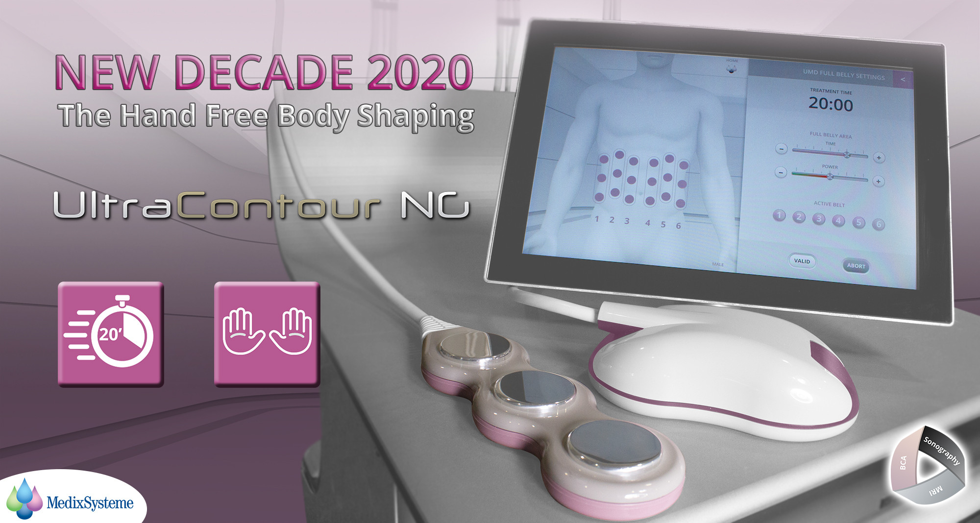 UC ultracontour medixsysteme hand free b