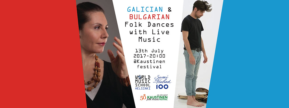 Galician and Bulgarian Folk event